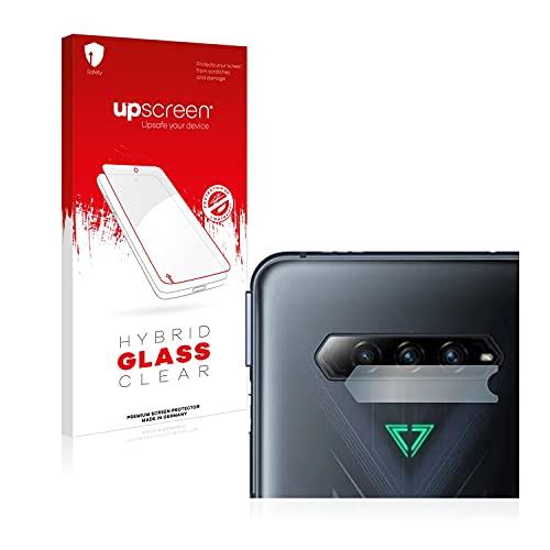 upscreen Hybrid Glass Panzerglas Schutzfolie kompatibel mit Xiaomi Black Shark 4 (NUR Kamera) 9H Panzerglas-Folie