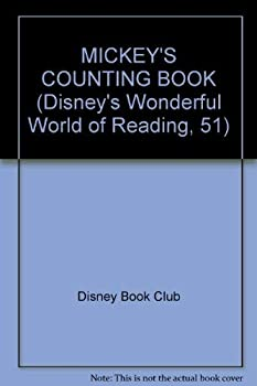 Mickey's Counting Book - Book #51 of the Disney's Wonderful World of Reading