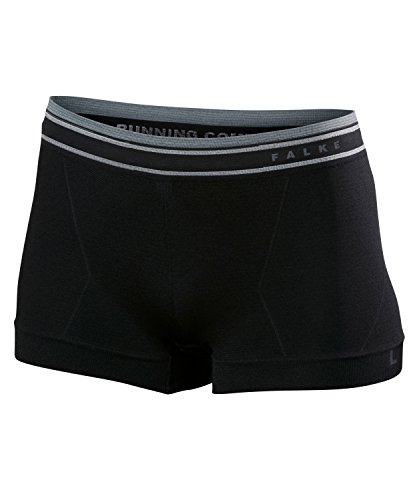 Falke RU Comfort Panties Pantalon de Course pour Femme L Noir