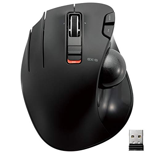 ELECOM Left-handed Wireless track ball mouse
