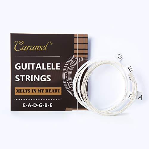 2x Sets of 6 string Ukulele Strings for Guitalele, E-A-D-G-B-E Tuning