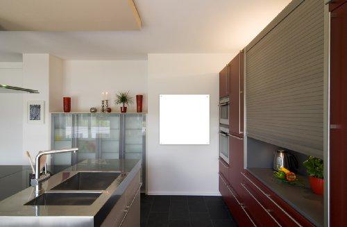 Infrarotheizung Infrarot 450 Watt Metall-Premium Weiss Glaswärmt Heizung kaufen  Bild 1*