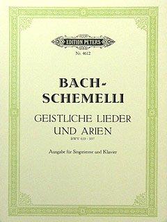 Musikverlag C.F. Peters Ltd. und Co. KG SCHEMELLI GESANGSBUCH - arrangiert für Gesang & andere Besetzung - Klavier [Noten/Sheetmusic] Komponist: BACH Johann Sebastian