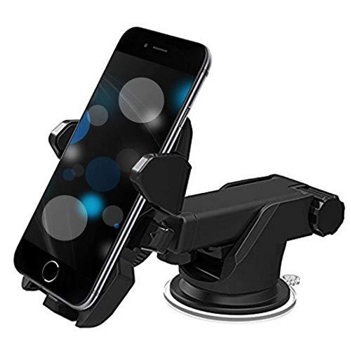 Gilary — car Mobile Holder | Long Neck Arm | 360 Degree Rotation | Ultimate Reusable Suction Cup | Mount for Dashboard,Windshield,Desktop–Black |