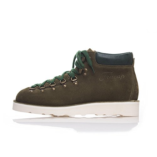 FRACAP M128 Suede Olive Handmade in Italy (US 7 - Olive)