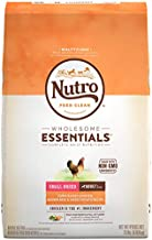 NUTRO WHOLESOME ESSENTIALS Adult Small Breed Natural Dry Dog Food Farm-Raised Chicken, Brown Rice & Sweet Potato Recipe, 15 lb. Bag