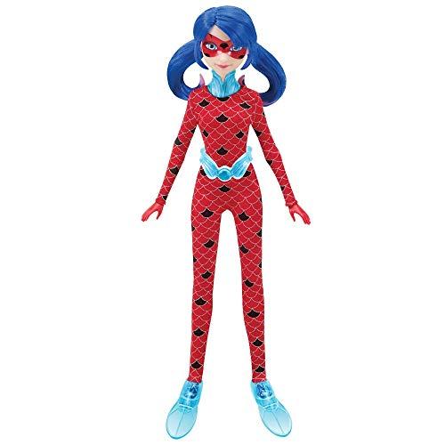 Giochi Preziosi- Miraculous Aqua Suit Personaggio con Accessorio, Multicolore, 27 cm, MRA22300