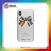 iPhoneケース、オリジナル、iPhone XsMax / 7 / 8Plus / XRに最適、グルメ、リアル、レインボー、リボン、透明