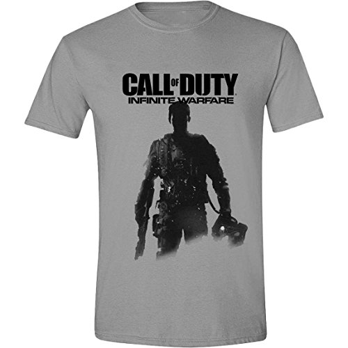 Call Of Duty Infinite Warfare - Soldiers Pose T-Shirt grau meliert L