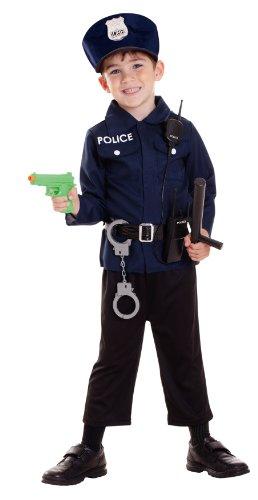 Riethmueller Amscan - Ccs00005 - Costume/Accessoires de Policier - Garçon - 3-6 Ans, Brun