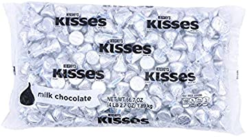 Lightning deal on HERSHEY'S KISSES Bulk Milk Chocolate Pride Can