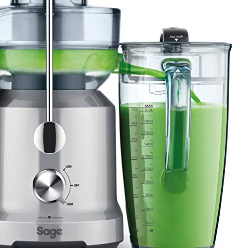 Sage BJE430SIL the Nutri Juicer Cold Fountain Centrifugal Juicer - Silver