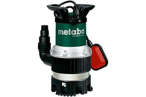 Metabo 251600000 Kombi-Tauchpumpe TPS16000S, 970W, 230Volt, 50Hz