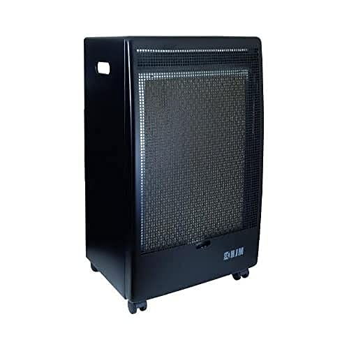 HJM EG-2800 Negro 2800W - Calefactor (Piso, Negro, 2800 W, 430 mm, 375 mm, 720 mm)