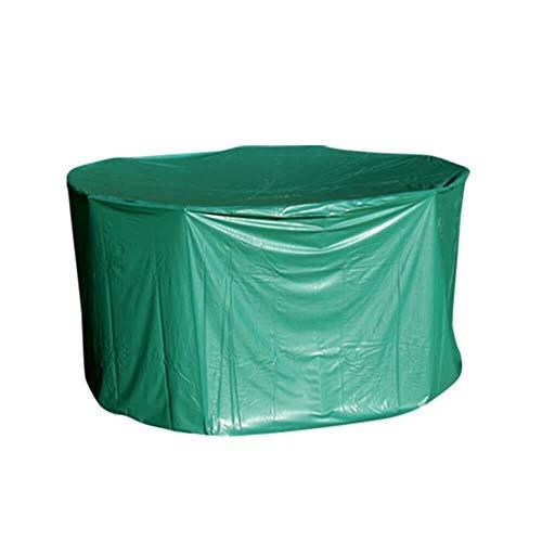 OSE Housse de Protection PVC Table Ronde de Jardin - extérieur