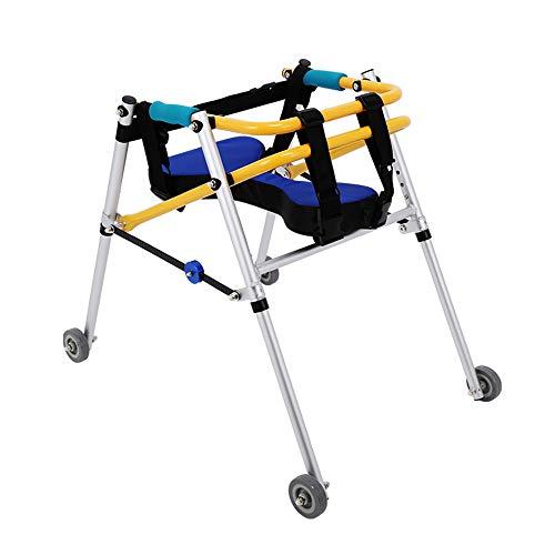 Yxsd - Andador para niños con marco de rehabilitación de las extremidades inferiores, Aleación de aluminio, Extra Large
