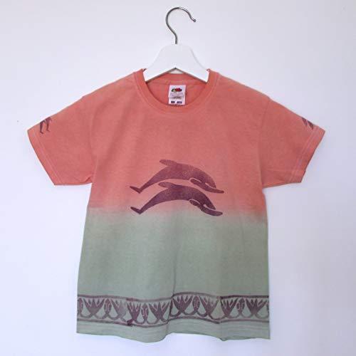 Camiseta algodón manga corta Delfines