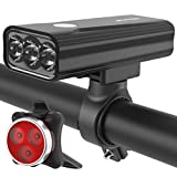 10 Best Bicycle Lights 1200 Lumens Rechargeables