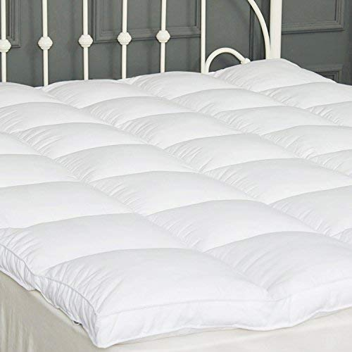 SUFUEE Mattress Topper Twin Down Alternative Mattress Pad 2'...