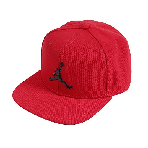 Nike Jordan PRO Jumpman Snapback Hat, Gym Red/Black, MISC