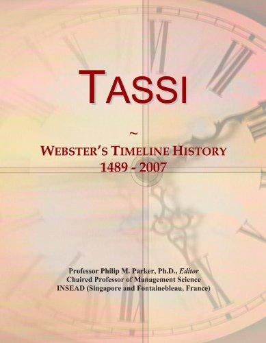 Tassi: Webster's Timeline History, 1489 - 2007
