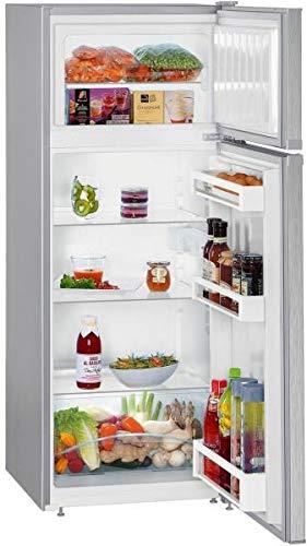 Liebherr CTel 2531 Stand - Frigorifero freezer da 55 cm, 233 l, SmartFrost, VarioSpace, colore: Argento