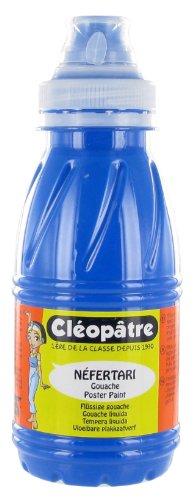 Cleopatre - PGN250-1 - Pintura guache Nefertari Premium - Frasco de 250 ml - Azul (estándar)