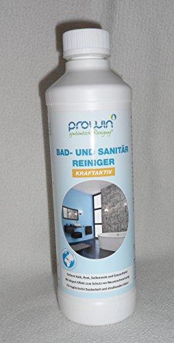proWin Bad und Sanitärreiniger 500 ml & Superschaumflasche