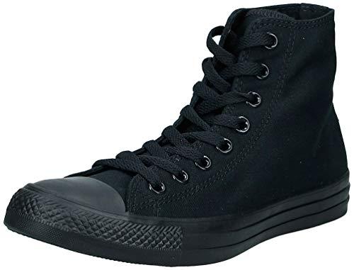 Converse Chuck Taylor All Star, Zapatillas de Tela Unisex, Negro (Black Monochrome), 36 EU