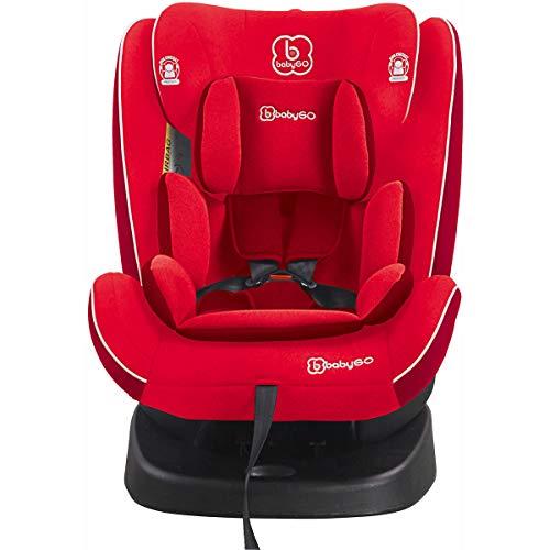 babyGo Nova rot Kinderautositz Isofix 0-36 kg