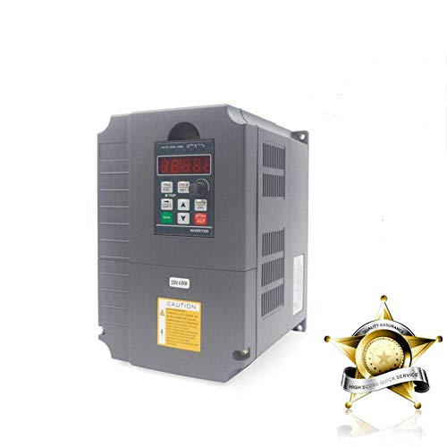 Vector Control CNC VFD Variable Frequency Drive Controller Inverter Converter 220V 4KW 5HP For Spindle Motor Speed Control HUANYANG GT-Series (220V, 4.0KW)