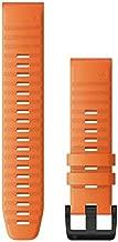 Garmin Quickfit 22 Watch Band, Ember Orange Silicone