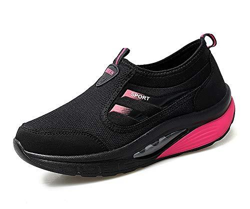 scarpe fitness dimagranti lovejin Scarpe Zeppa Platform Donna Running Scarpe da Ginnastica Sportive Mesh Dimagranti Fitness Sneakers Moda Casual all'Aperto Sport