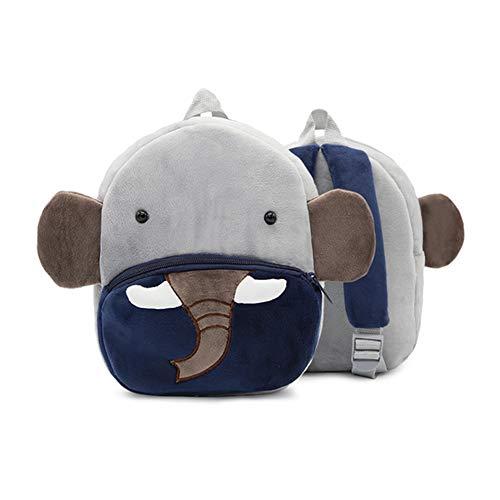 YZNlife Kleinkind Rucksack Kindergartenrucksack, Plüsch Tier Rucksack Mini Cartoon Backpack, Mini Animal Rucksack Vorschule Rucksack Kinderrucksack, Kleinkind Schultasche für Baby Mädchen 2-5 Jahre