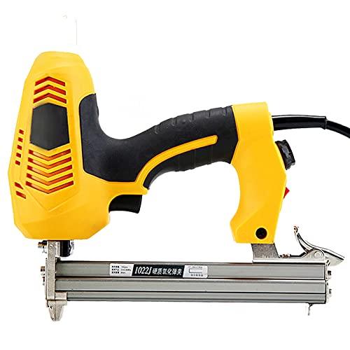 Grapadora - Grapadora de grapas 2300W Grapadora eléctrica portátil Grapadora de uñas eléctrica para carpintería (enchufe de la UE)
