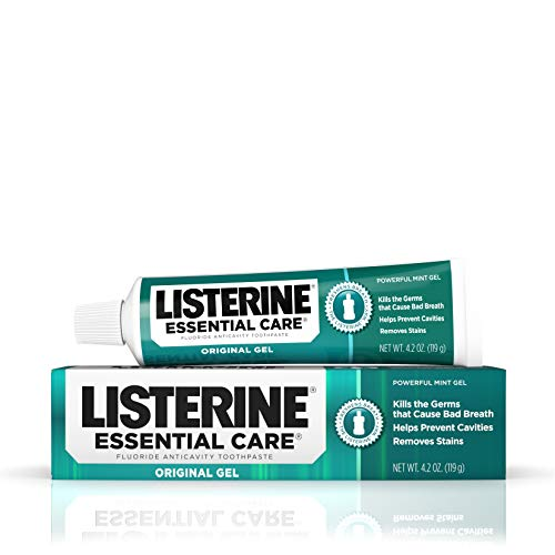 Listerine Listerine Essential Care Toothpaste Powerful Mint Gel 125 ml – Zahnpasta
