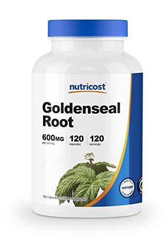 Nutricost Goldenseal Root 600mg, 120 Capsules - Non-GMO, Gluten Free, Vegetarian Capsules