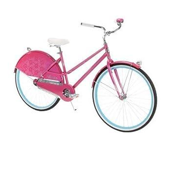 26  Huffy Premier Modern Cruiser Bike Pink
