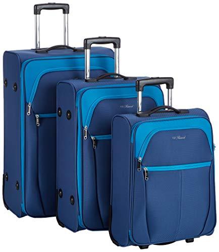 WITTCHEN Unisex-Erwachsene Koffer & Trolleys Henkeltasche, (Blau), 73x37.0x48 cm