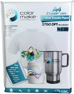 Papel Para Sublimar Sublimación Color Make 100 Hojas Light A4