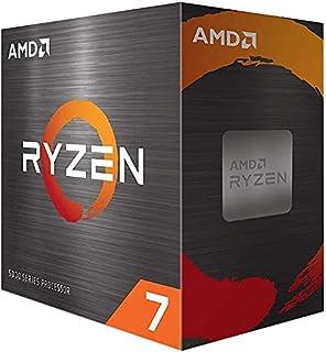 (OEM CPU) AMD Ryzen 7 5800X 8-core Desktop Processor Without Cooler, 16-Threads Unlocked, 3.8 GHz Up to 4.7 GHz, Socket AM...