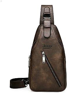 Bolsos de hombro Viajes Senderismo Cross Body Messenger Bolsas De Hombro Hombres De Gran Capacidad En El Pecho Sling Bag S...