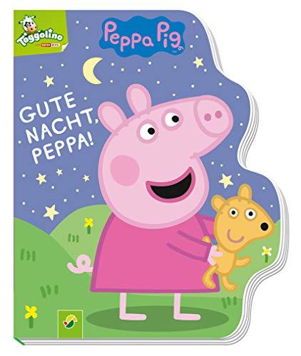 Gute Nacht, Peppa! - Peppa Pig: Pappbilderbuch mit Konturenstanzung