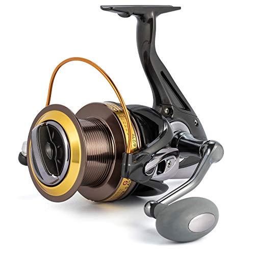 Alwonder Saltwater 11000 Spinning Reel for Surf Fishing, 11+1 Stainless BB, 31 LB Drag, Graphite Body Long Casting Heavy Duty Aluminum Spool Offshore Fishing Reel