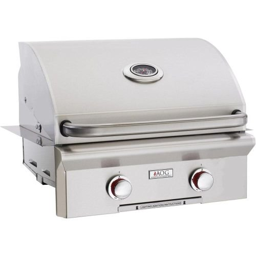 "American Outdoor Grills 24"" AOG Built-In T Series Grill w/Rotisserie and Rapid Light - NG"