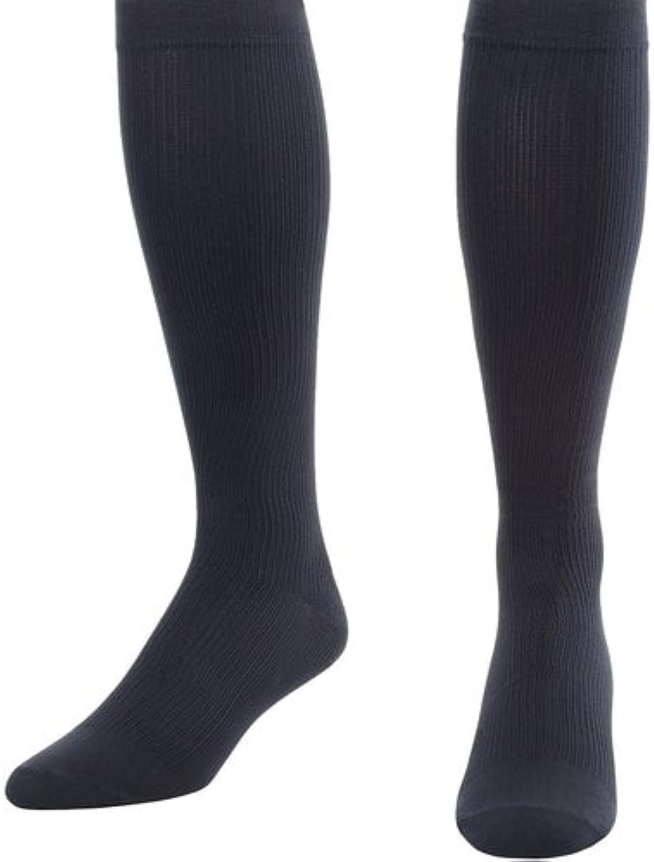 blueee Jay Mens Dress Socks Medical Legwear  blueee Jay Men's Firm Support Socks 2030mmHg, Soft Welt, Balloon Toe, Reciprocated Heel, Mens Compression Socks (Navy, Small)