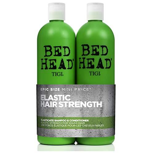 Bed Head by Tigi Elasticate Shampoo und Conditioner für schwaches Haar, 750ml, 2Stück