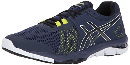 ASICS Men's Gel-Craze TR 4 Cross Trainer, Peacoat/Black/White, 7.5 Medium US