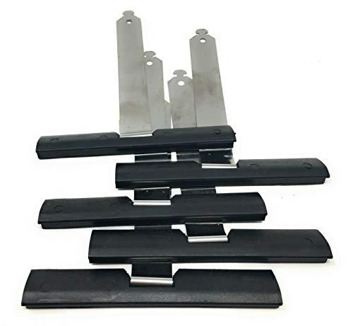 5x Mini Rolladen Aufhängefeder Rollladen Stahlband-aufhänger Lamellen Sicherungsfeder Aufhängung Stahlfeder 170 mm