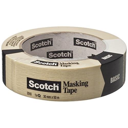 Scotch 2010-D Nastro Multiuso, Bianco, 36 mm x 50 m
